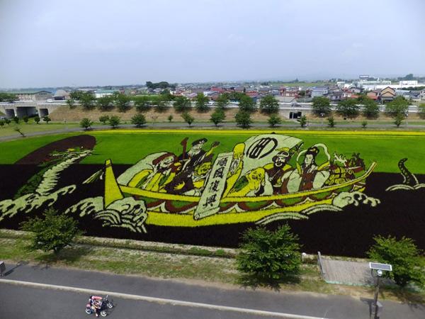 Sau thành công vang dội của làng Inakadate, nhiều làng và thị trấn khác cũng bắt đầu áp dụng nghệ thuật Tanbo như Yonezama, Yamagata,&Thậm chí nhiều cuộc thi trồng lúa nghệ thuật này cũng được tổ chức tại các làng, thị trấn, thu hút đông đảo du khách.
