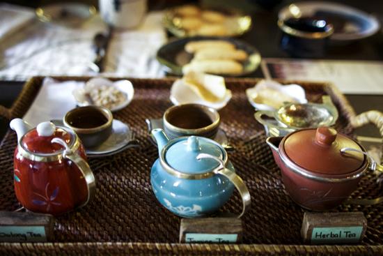 Phong cách uống trà độc đáo. ẢNh: josefinforsberg.