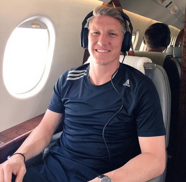 Schweinsteiger háo hức với cuộc phiêu lưu mới ở MU sau 17 năm đầy vinh quang với Bayern Munich.