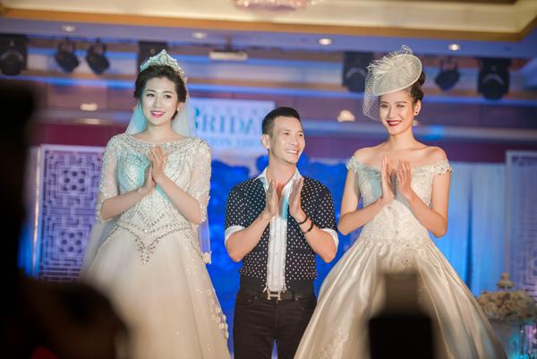 Cô đảm nhận vai trò vedette cùng siêu mẫu Hà Phương ở màn trình diễn áo cưới của Kenny Thái.