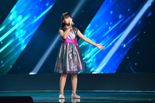 Nguyễn Phương Anh, 11 tuổi đến từ Hải Phòng. Phương Anh có chất giọng vừa nhẹ nhàng nhưng cũng vừa mạnh mẽ và cá tính với ca khúc When you believe (sáng tác: Stephen Schwartz).
