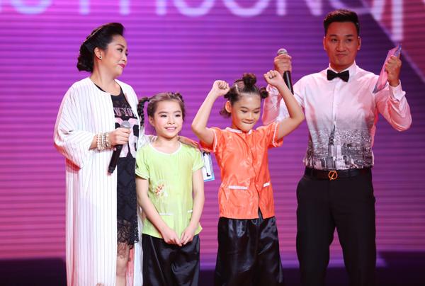Nói về tiết mục của học trò, Đoan Trang chia sẻ rằng, cô rất tự hào vì hai bé rất ngoan, tập luyện chuyên cần. Những gì Như Phương - Như Minh thể hiện trên sân khấu làm cô hài lòng bởi bài thi mang cả tính dân gian lẫn hiện đại. Biên đạo Hà Lê thì tâm sự, quá trình tập luyện, trò chuyện và đi chơi cùng huấn luyện viên là kỷ niệm đẹp mà họ tạo được với nhau. Dù bé nào bị loại thì Hà Lê - Đoan Trang vẫn luôn ủng hộ, giúp đỡ các bé. Hà Lê đã đưa ra quyết định chọn bé Như Minh vào vòng liveshow, còn bé Như Phương phải chia tay chương trình.