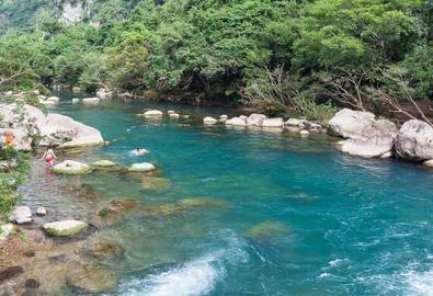 Suối Moọc - bản nhạc jazz của núi rừng Quảng Bình
