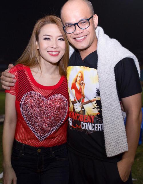 Từ năm 2001,  Mỹ Tâm  đã hợp tác cùng nhà thiết kế Trọng Nguyên trong việc chọn lựa trang phục cho các dự án âm nhạc, live show.