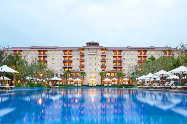 Kiến trúc vườn nước ở Vinpearl Đà Nẵng