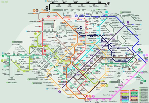 Du lịch Singapore cực đơn giản chỉ với MRT