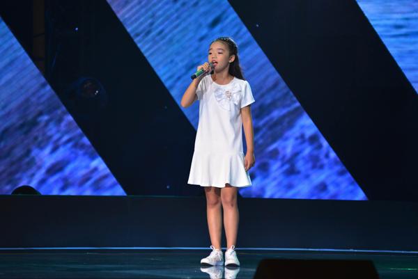Cô bé 9 tuổi đã không thuyết phục được các thành viên trong ban giám khảo, bởi đã lựa chọn ca khúc quá khó và không phù hợp với lứa tuổi của mình.