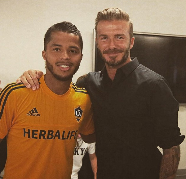 Good luck to Gio on his first league game... Since Landon finished the Galaxy needed a great number 10...They have their man. Good luck my friend.