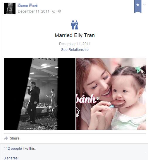 Elly Trần lên tiếng về cha đẻ của bé Mộc Trà