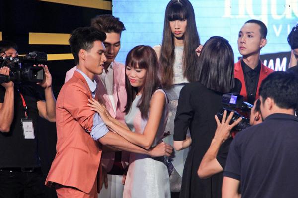 Kết quả ban đầu, Nguyễn Thị Hợp là thí sinh bị loại vì đã không vượt được qua thử thách ở tập này.