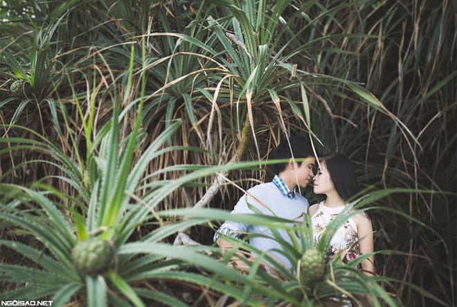 Cô dâu diện áo dài, chụp ảnh cưới ở Côn Đảo