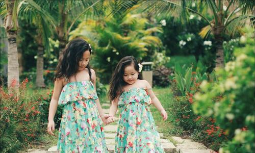 Bộ ảnh tuyệt đẹp của gia đình sinh con gái một bề