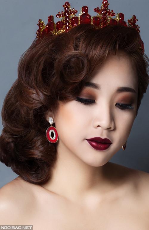 Lương Tường Vi gợi ý makeup cô dâu cổ điển