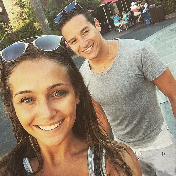Florian Thauvin và bạn gái đồng hương hẹn hò gần một năm nay