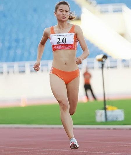 Hot girl điền kinh Nguyễn Thị Oanh 'đại phá' giải trẻ quốc gia