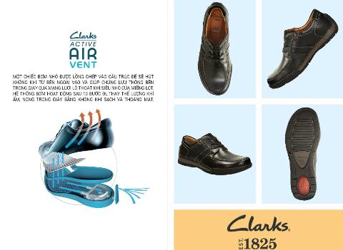 Phong cách và cá tính với giày Clarks 10