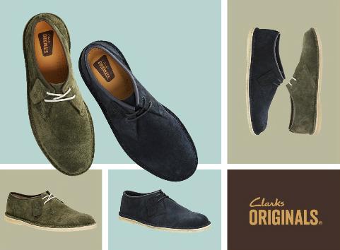 Phong cách và cá tính với giày Clarks 8