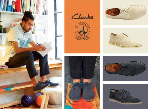 Phong cách và cá tính với giày Clarks 7