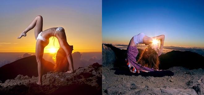 Bí quyết giữ dáng của \'nữ thần yoga\'