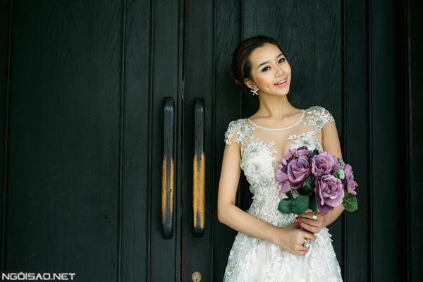 Gợi ý váy cưới ngọt ngào tôn nét nữ tính