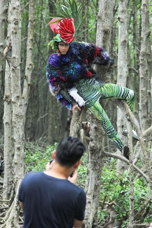 Thê hiện phong cách 'một màu' qua các thử thách của chương trình đã khiến Gia Vũ phải dừng chân sớm.
