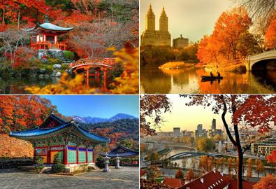Những nơi có mùa thu đẹp nhất thế giới