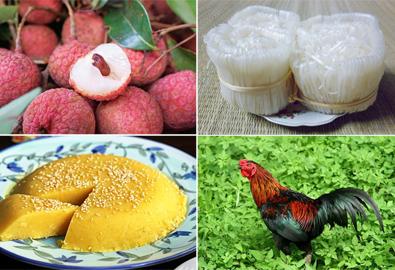 10 món ngon có tiếng của vùng quê Bắc Giang