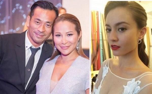 Vợ tỷ phú 'nuốt giận' dù chồng đưa kiều nữ TVB tới Hàn du hý
