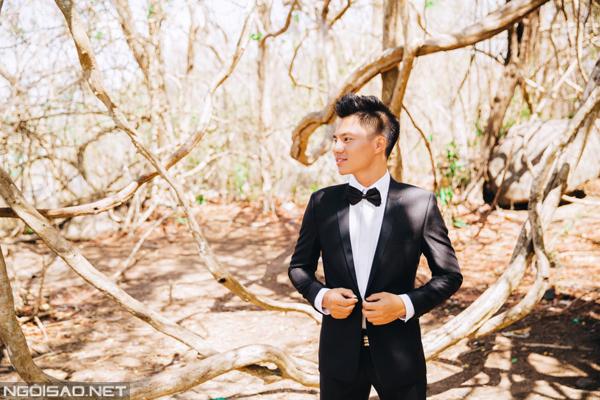Cặp đôi chụp ảnh cưới tuyệt đẹp ở Hồ Cốc 12
