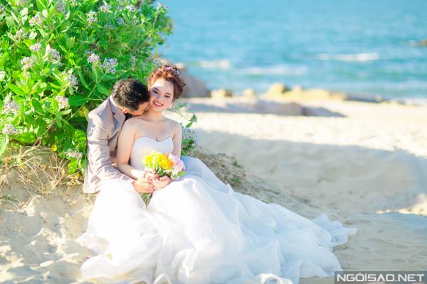 Cặp đôi chụp ảnh cưới tuyệt đẹp ở Hồ Cốc 4