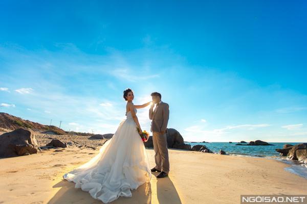Cặp đôi chụp ảnh cưới tuyệt đẹp ở Hồ Cốc 5