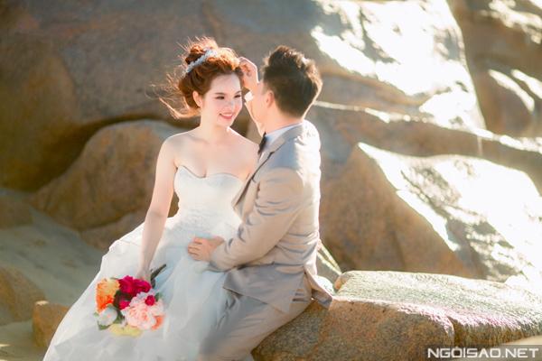 Cặp đôi chụp ảnh cưới tuyệt đẹp ở Hồ Cốc 7