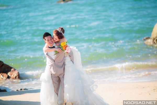 Cặp đôi chụp ảnh cưới tuyệt đẹp ở Hồ Cốc 8