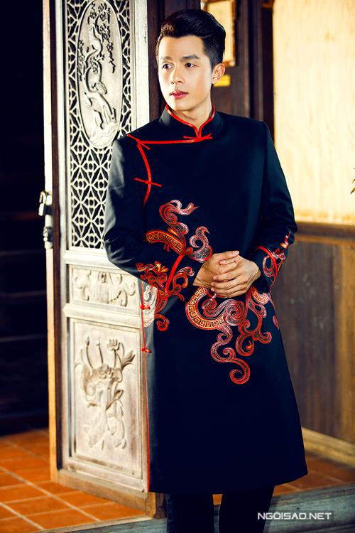 Bộ sưu tập áo dài cưới đa dạng cho chú rể