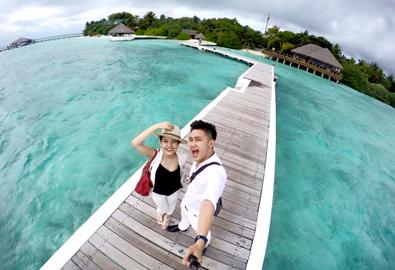 Bí kíp đi Maldives chỉ 18 triệu đồng của cặp đôi Việt