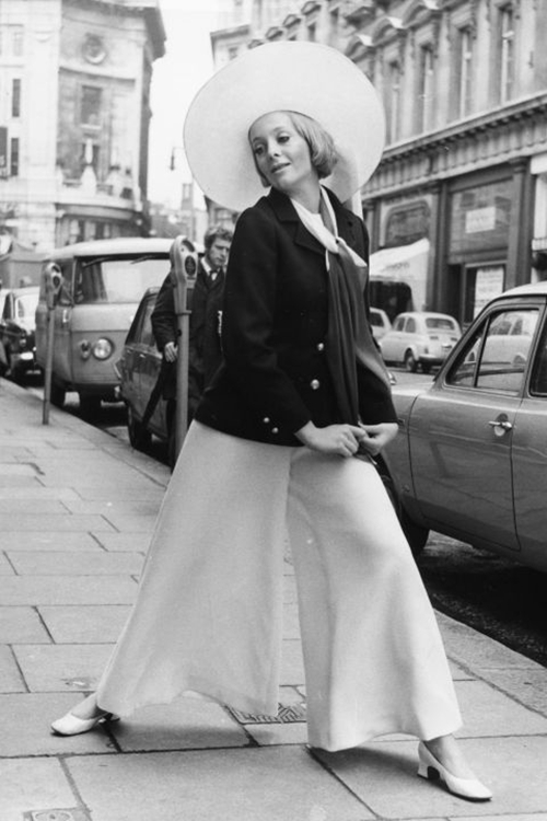 Những fashionista sành điệu trên phố ngày xưa