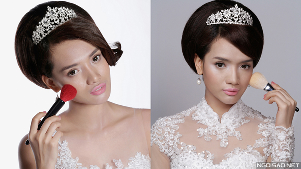 Cù Ngọc Quý gợi ý xu hướng makeup cưới mùa thu
