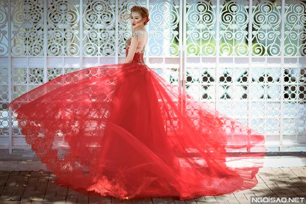 Váy cưới tuyệt đẹp cho cô dâu Sài Gòn