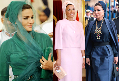 'Công nương Diana' của Qatar với style đẳng cấp