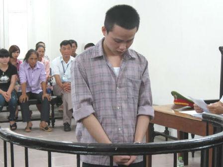 Bị cáo Nguyễn Văn Quyết tại tòa