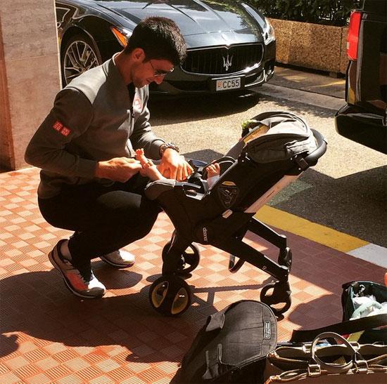Đối với Djokovic, bé Stefan chính là chiếc Cup lớn nhất, quan trọng nhất và yêu thích nhất với anh.