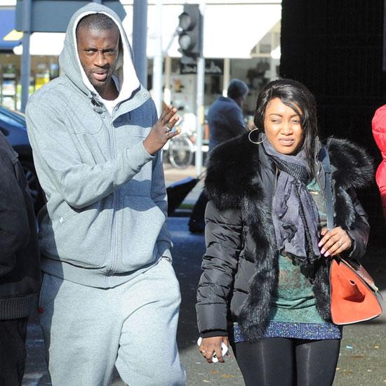 Tiền vệ Man City và bà xã Gineba