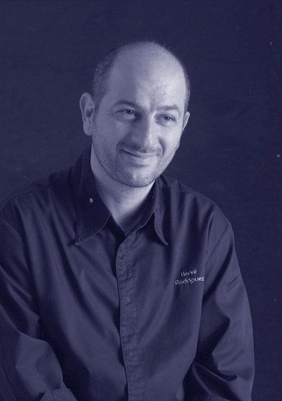 Hervé Rodriguez là đầu bếp noiir tiếng tại Pháp.