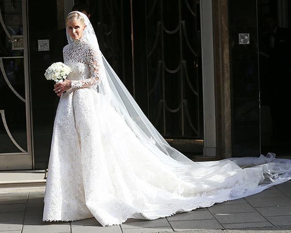 Nicky Hilton nói về cảm hứng tạo nên váy cưới 1,7 tỷ đồng