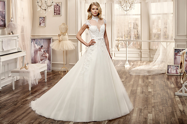 Váy cưới lộng lẫy dành cho mùa thu đông