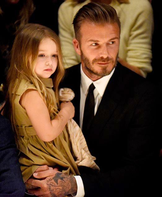 Becks không cho vợ cắt tóc con gái cưng