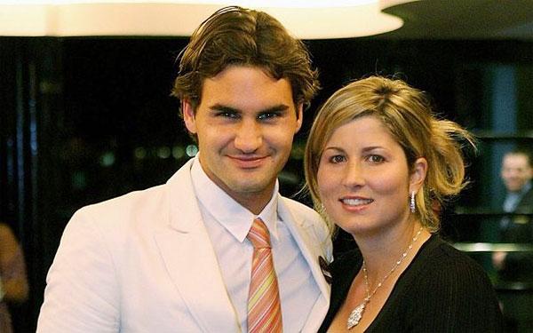 Federer và Mirka gắn bó bên nhau suốt 15 năm qua.