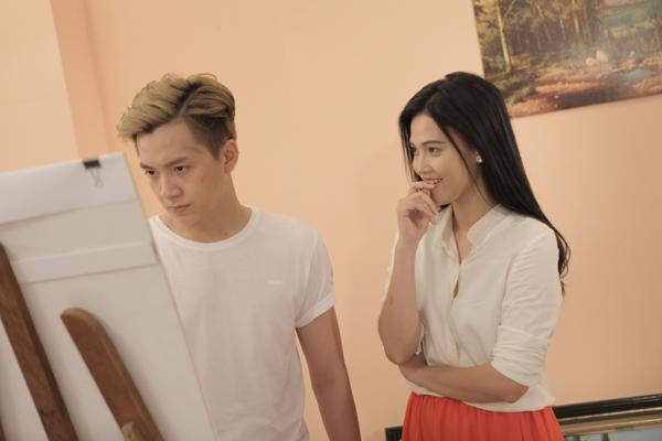[Caption]Nhân vật nữ chính:Lê Thuý là sinh viên trường sân khấu điện ảnh cũng được êkip mời tham gia để bảo đảm thể hiện tâm lý nhân vật ổn định nhất chứ không phải một gương mặt hot girl hay người mẫu nào.