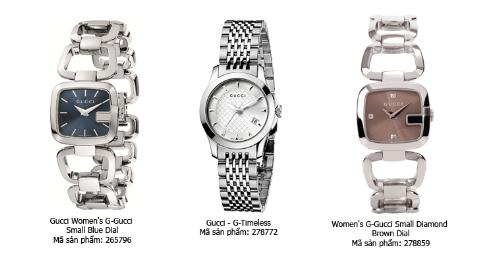 Thanh lịch, tinh tế với đồng hồ Gucci, Burberry