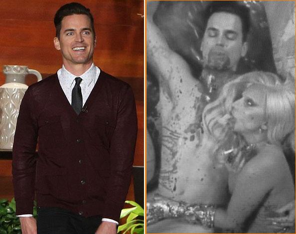 Matt Bomer phải che vùng kín đóng cảnh sex với Lady Gaga